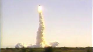 getlinkyoutube.com-Space Shuttle Challenger launch & explosion filmed from Shuttle Landing Facility January 28, 1986