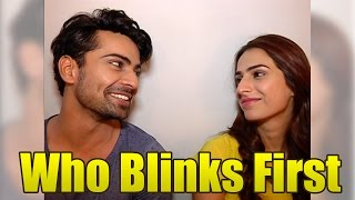 getlinkyoutube.com-Neil and Sam aka Kashmira and Shravan of Manmarziyaan play WHO BLINKS FIRST
