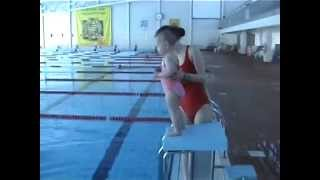 getlinkyoutube.com-Arabel, Bayi Pinter Renang berumur 1 tahun 9 bulan, berenang di Aura Centre