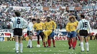 getlinkyoutube.com-Eliminatorias USA 94 :: Argentina 0x5 Colombia :: Narración Argentina :: 05/09/1993 :: COMPLETO