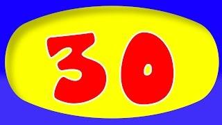 getlinkyoutube.com-Numbers song | 1 to 30 numbers song