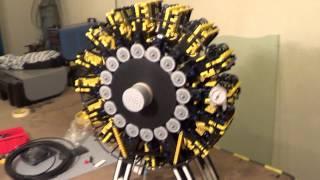 Crazy lego air engine