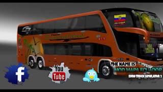 getlinkyoutube.com-EURO TRUCK SIMULATOR MOD BUS ECUADOR- v1.22