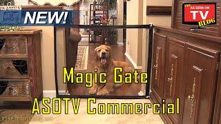 getlinkyoutube.com-Magic Gate As Seen On TV Commercial Magic Gate As Seen On TV Pet Gate
