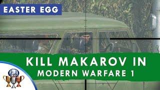 getlinkyoutube.com-Call of Duty 4 Modern Warfare Remastered - Time Paradox (Killing Vladimir Makarov in MW1 Easter Egg)