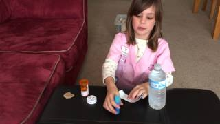 getlinkyoutube.com-how to make a water bottle for your American Girl doll