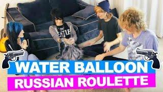 getlinkyoutube.com-WATER BALLOON RUSSIAN ROULETTE *CHALLENGE*