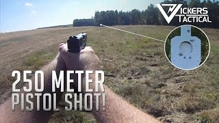 getlinkyoutube.com-250 Meter Shot with a Pistol!