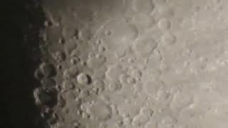 Moon Test   Nikon Coolpix P900 83x Highest Zoom