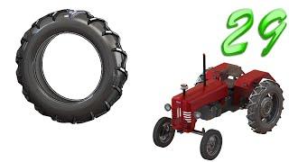 getlinkyoutube.com-29- SolidWorks  Tractor : back tire