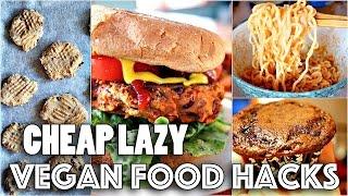 getlinkyoutube.com-VEGAN FOOD HACKS YOU NEED TO KNOW