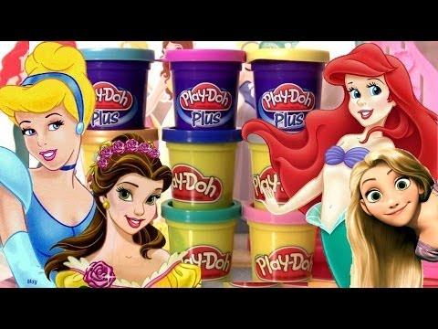 Massinhas PlayDoh Princesas Disney Vestido de Baile Play-Doh Plus Design a Dress Ballroom playset