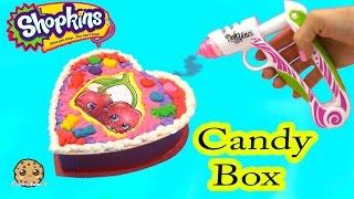 getlinkyoutube.com-Playdoh DohVinci DIY Season 4 Shopkins Custom Candy Box Valentines Day Holiday Craft Video