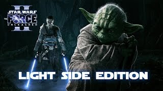 getlinkyoutube.com-Star Wars: Force Unleashed 2 (Light Side Edition) Game Movie 1080p HD