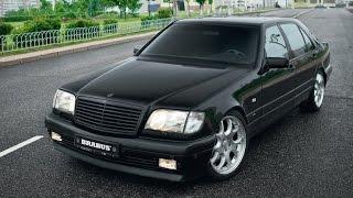 getlinkyoutube.com-Mercedes W140 Compilation, Brabus 7.3, AMG, Wald, 600SEL, V12