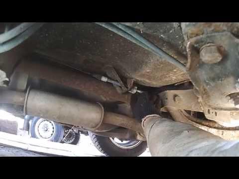 Ford Sierra регулировка стояночного тормоза