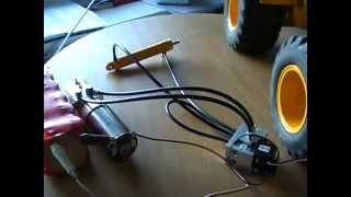 getlinkyoutube.com-RC HYDRAULIC, SMALL HYDRAULIK, Minihydraulik der Firma  www. Leimbach-modellbau.de