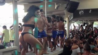 getlinkyoutube.com-SuperParadise beach (3) - Mykonos 2012