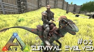 ARK: Survival Evolved - ARRIVAL TO NEW POOPING EVOLVED HQ !!! - [Ep 02] (Server Gameplay)