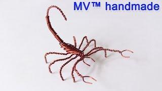getlinkyoutube.com-Hướng dẫn làm con bọ cạp bằng dây đồng
