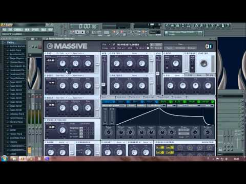 Nicky Romero - Toulouse: Tutorial with Massive in Fl Studio 10