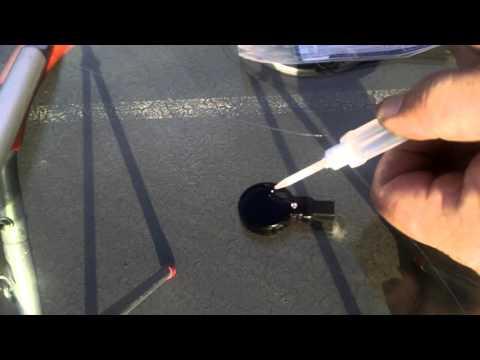 Replacing Rain Sensor on a Audi Q7. DIY GGS 901 Gel Kit