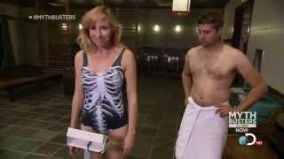 getlinkyoutube.com-Kari Byron - Mythbusters - Swim Suit Sauna