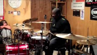 getlinkyoutube.com-Chris Coleman - Spur of the Moment (by Dave Weckl)