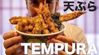 Japanese Tempura, and Martina's Tempura-tantrum width=