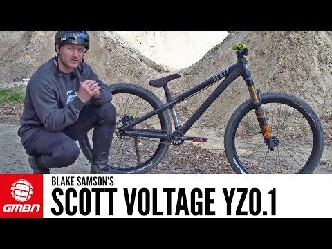 Blake Samson's Scott Voltage YZ0.1   GMBN Pro Bikes