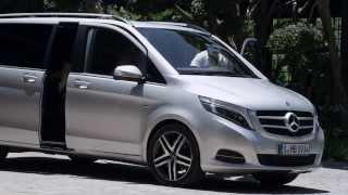 getlinkyoutube.com-Mercedes-Benz New 2015 V-Class HD Trailer