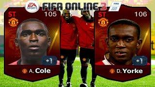 getlinkyoutube.com-FIFA Online3 - รีวิวตำนานแมนยู Cole & Yorke [NEW ENGINE]