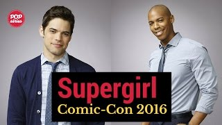 SDCC 2016: Mehcad Brooks e Jeremy Jordan de Supergirl