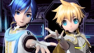 getlinkyoutube.com-[60fps Full風] erase or zero - カイト 鏡音レン KAITO Kagamine Len Project DIVA English Romaji PDA FT