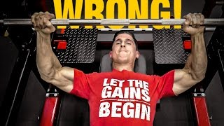 getlinkyoutube.com-The Official Bench Press Check List (AVOID MISTAKES!)