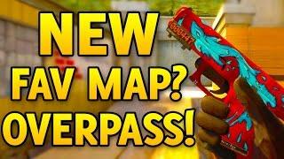 getlinkyoutube.com-New Favorite Map? DE_OVERPASS! CS GO Competitive