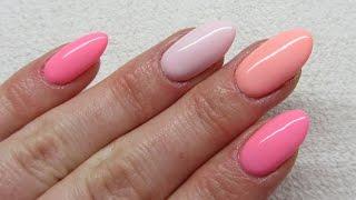 getlinkyoutube.com-Semilac - Hard Milk - How to apply/remove soak off gels - Jak przedłużyć/usunąć hybrydowe paznokcie?