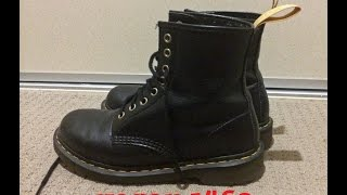 getlinkyoutube.com-Vegan Doc Dr Martens 1460 Review