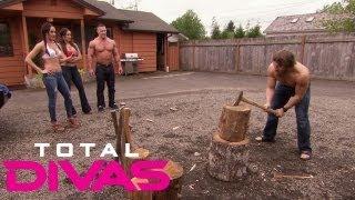 getlinkyoutube.com-The Bellas challenge Daniel Bryan and John Cena: Total Divas, Aug. 4, 2013