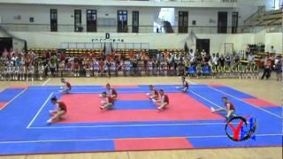 getlinkyoutube.com-Aerobic   1  Hai Duong   Tu chon 8 nguoi   Cap 1 4 5   HKPD KVII 2012