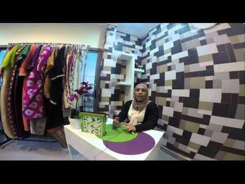 Nafnooff |  لقاء مع مصممة الأزياء فاطمة الحداد في محلها