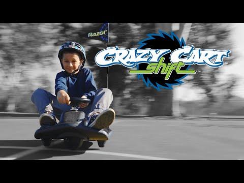 Razor Crazy Cart Shift - Black/Blue