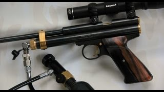 getlinkyoutube.com-How to co2 bulk fill a Crosman 2240 2300 2250b 2400 pistol carbine