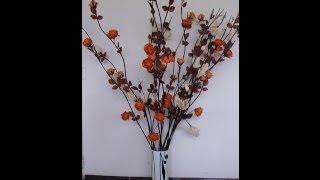 getlinkyoutube.com-Arreglos florales. Manualidades fáciles
