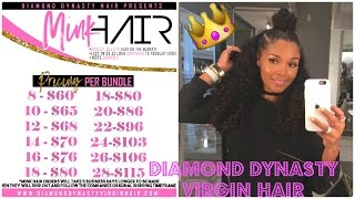 getlinkyoutube.com-Initial Review: Diamond Dynasty Virgin Italian Wave💅🏾