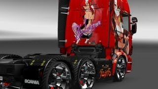 getlinkyoutube.com-Euro Truck Simulator 2 / Tunando Caminhões