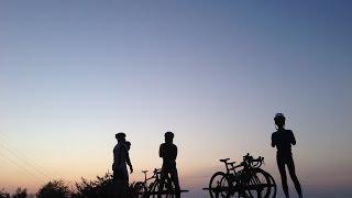 getlinkyoutube.com-[ロードバイク]Team KIT 練習風景