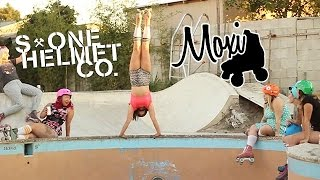 getlinkyoutube.com-S1 Helmet Co  X Moxi Roller Skates Video 2014
