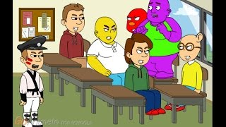 getlinkyoutube.com-Barney sings the I love you song in class/gets grounded