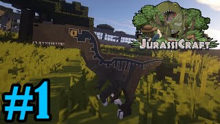 getlinkyoutube.com-Blue and the Raptor Pack | Jurassicraft 2.0 - Minecraft | #1
